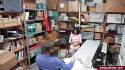 LP officer banged latina shoplifter