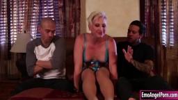 Tattooed stepsis fucked by stepbros cock