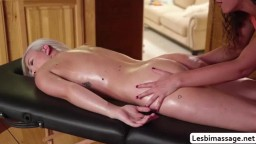 Victoria and Emily firstime seeing each other orgasm