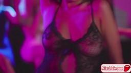 Horny stripper licks brides wet pussy