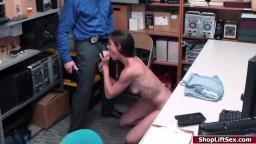 Milf shoplifter fucked by LP officer