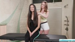 Daisy and Eliza performs pussy licking and scissor sex