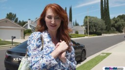 Housewife orally welcomed by neighbours