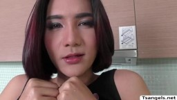 Asian TS Superstar Micky loves anal with dudes big cock