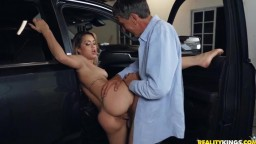 Alina Lopez It's Your Turn to Drive the Sitter Home
