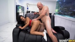 School Girl Alina Bell Breaks Dress Code