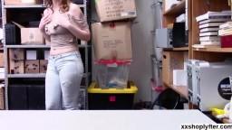 Shoplifter Sailor Luna chokes sucking LPs big cock
