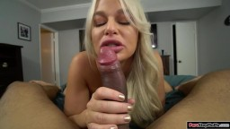Stepson licks the pussy of his stepmom