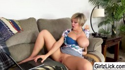 Tiffany Watsons webcam masturbation show