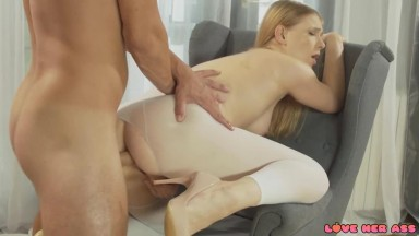 Lucy Heart - Anal Sex in White Yoga Pants