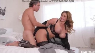 Perfect MILF Eva Notty - Hot Load on Her Huge Titties
