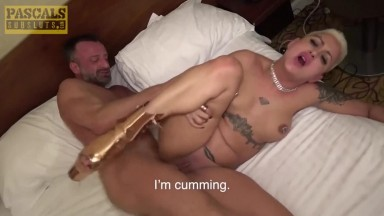 Subslut Lolly Glams fucked anal hardcore