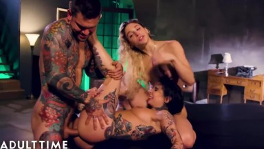 Abella Danger - Squirts Crazy Ass Fuck with Joanna angel