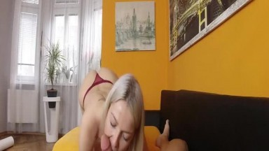 Karol Lilien - Blonde milf is playing with tattooed guy