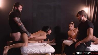 Samantha Creams - My Wifes Massage Episode 4